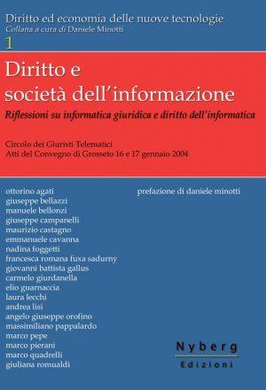 Copertina Diritto e società dell'informazione